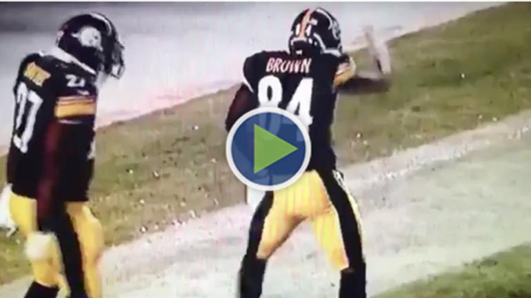 WATCH Steelers' Antonio Brown's punt return for TD vs ...