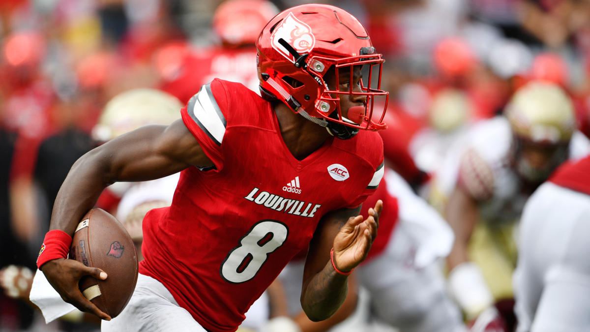 ba02313cf Even Michael Vick thinks Louisville QB Lamar Jackson is better than he was  - CBSSports.com