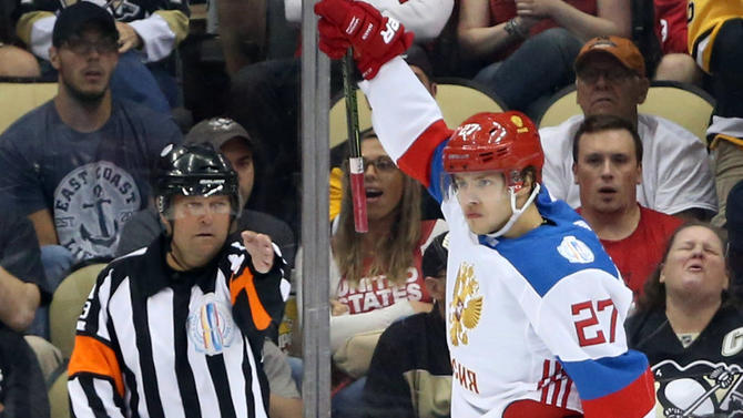 Markstrom subs for ill Lundqvist, leads Sweden past Russia