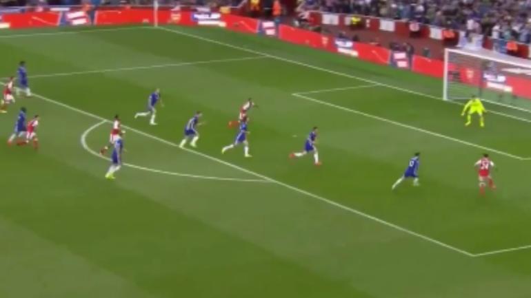 Image Result For Chelsea Vs Arsenal Goal Highlight