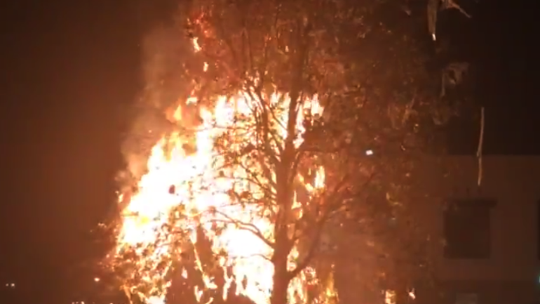 Watch Auburn Man Faces Felony After Setting Fire To A