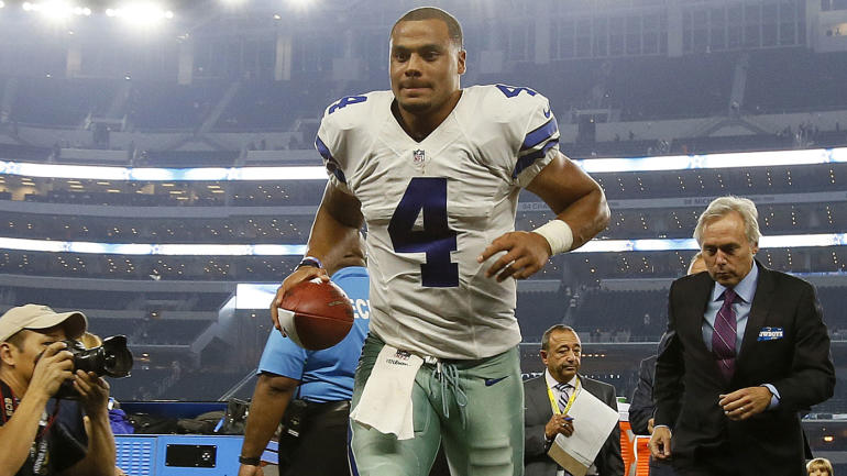 Here's what 10 stats tell us about Dak Prescott's one-of-a ...