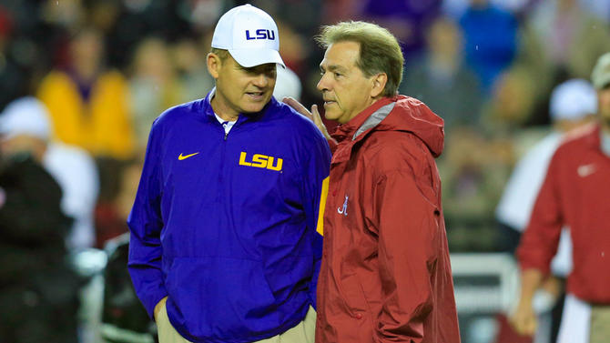 Les Miles lost his job because he refused to evolve like Nick Saban