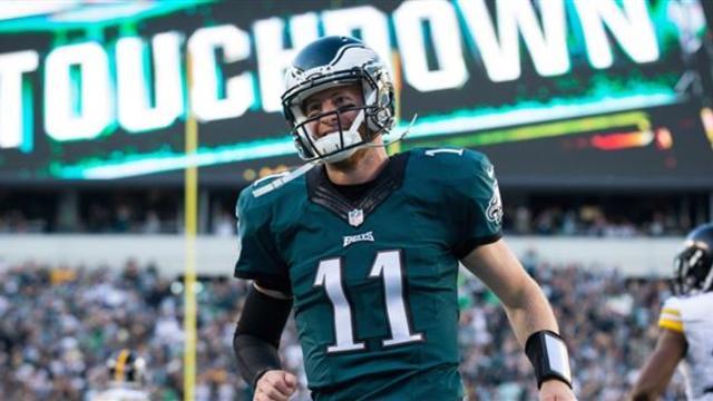 Year 2 Philadelphia Eagles Breakout Pick Carson Wentz Cbssports Com