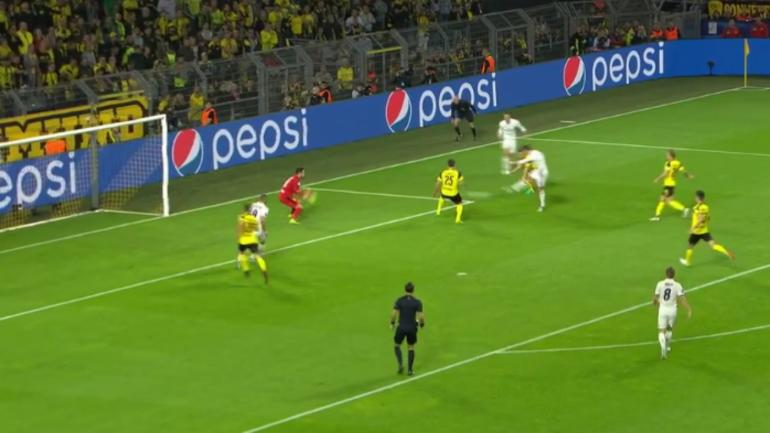 real madrid goal highlight ronaldo scores beauty at dortmund in champions league. Black Bedroom Furniture Sets. Home Design Ideas