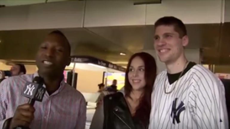 Yankee Stadium Proposal Couple That Nearly Lost The Ring Explained