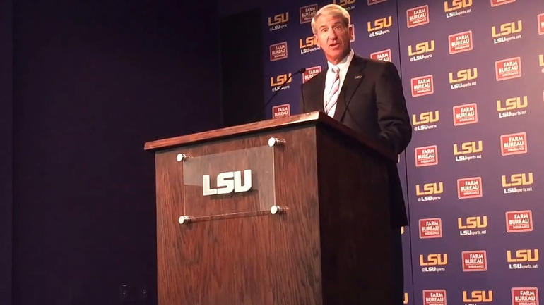 LSU replaces embattled LSU athletic director Joe Alleva with Scott Woodward from Texas A&M