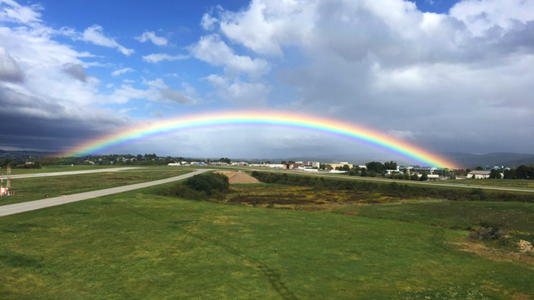 LOOK: Rainbow appears over country club after Arnold ...