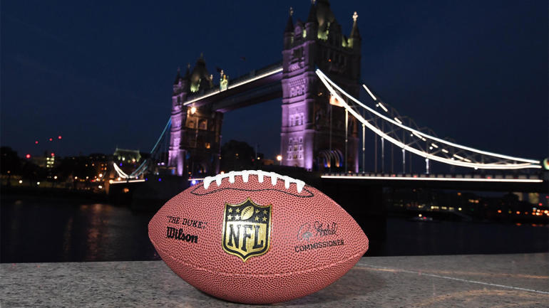 2017 NFL schedule: Dates set for two London games at Wembley Stadium