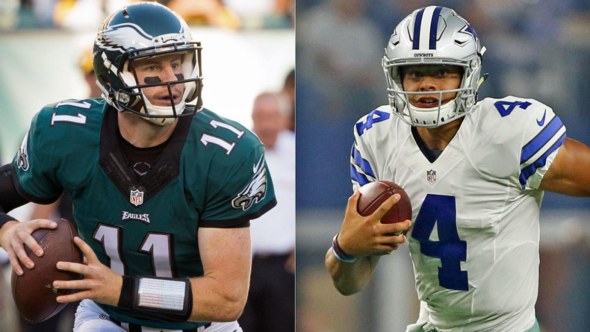 Carson Wentz Vs Dak Prescott An In Depth Look At The Stats