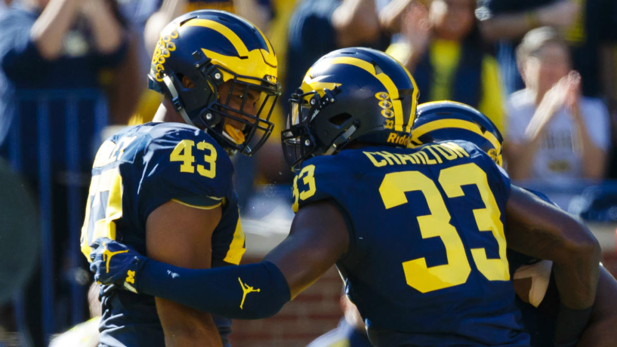 College Football Week 8 picks, odds: Roll with Michigan in ...