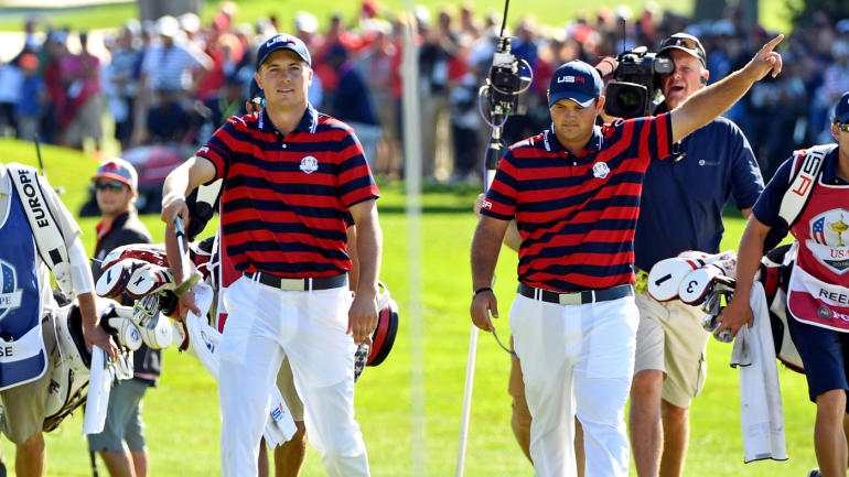 usa wins ryder cup 2016 in biggest margin since 1981 scores and results. Black Bedroom Furniture Sets. Home Design Ideas