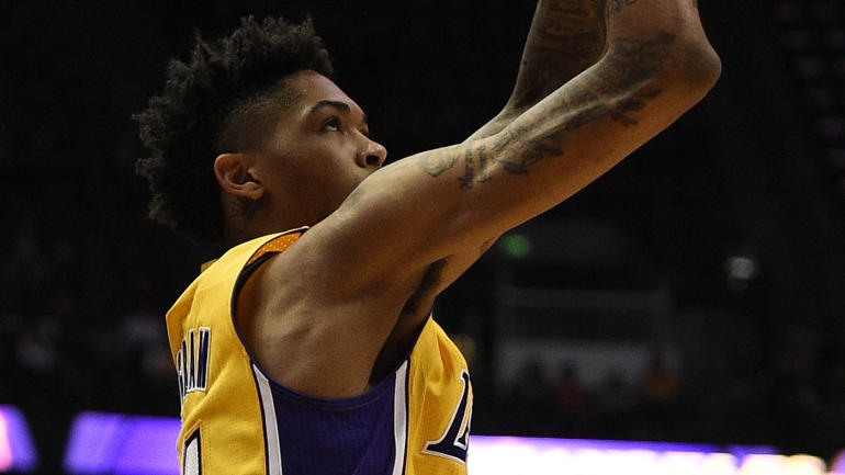 ad7dac4a28cc Lakers give rookie Brandon Ingram Kobe Bryant s locker - CBSSports.com