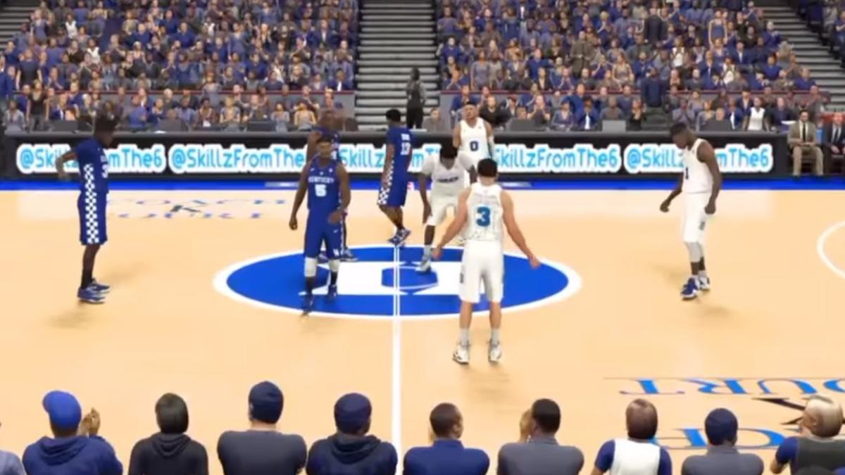 Here's how you can change NBA2K17 into a cool college basketball