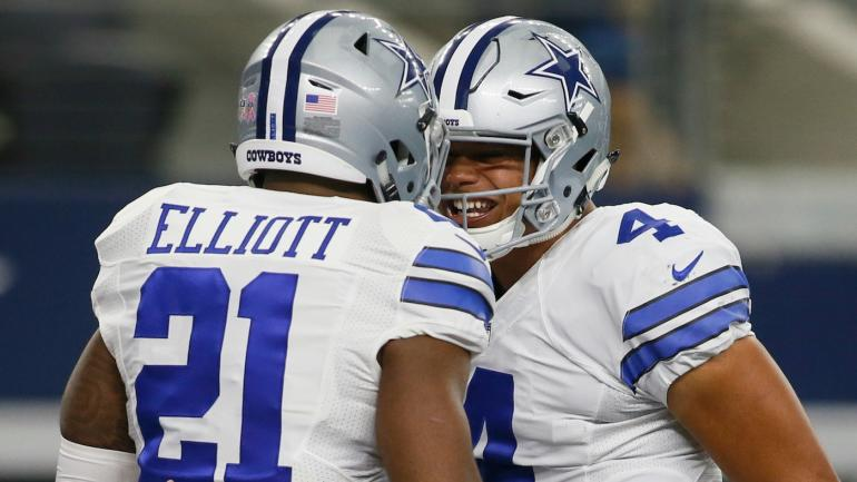 d214aefd88331 Dak Prescott and Ezekiel Elliott are already in the Pro Football Hall of  Fame - CBSSports.com