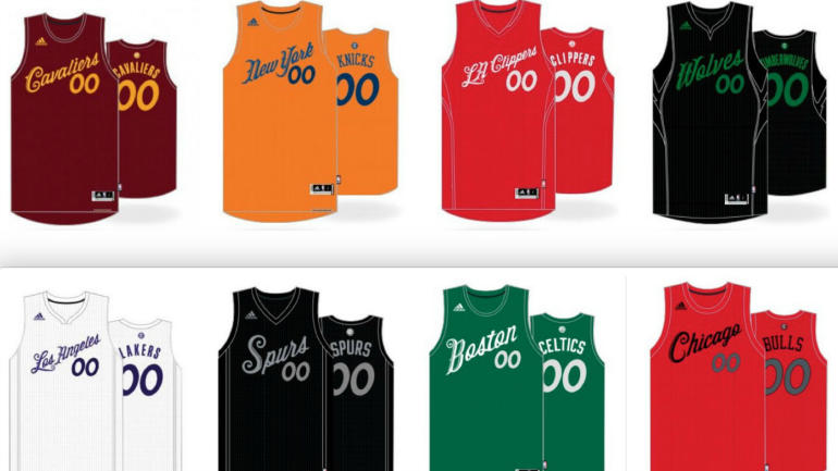 LOOK: The NBA's leaked Christmas jerseys are familiar, and ...