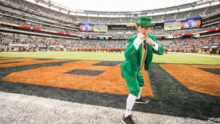 score notre dame football bowl games today tv schedule