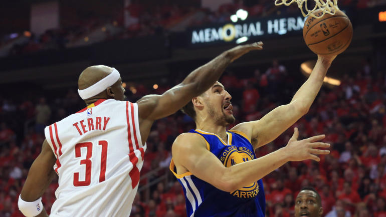 6d80c700664e Warriors  Klay Thompson confused by Jason Terry calling him  B-side player   - CBSSports.com