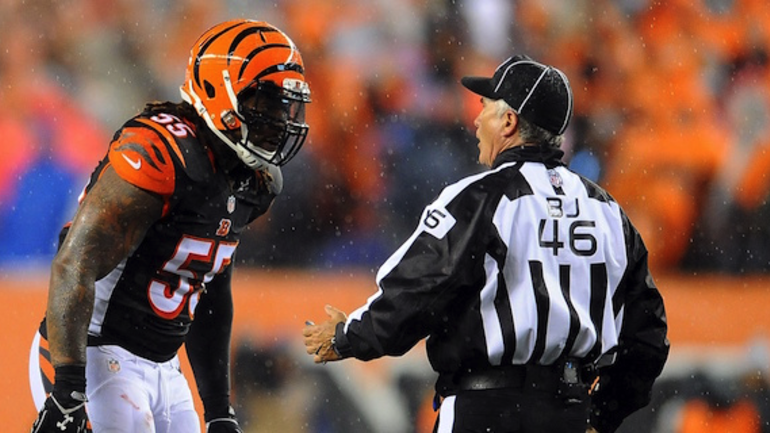 Vontaze Burfict fined over $12K for obscene gesture vs