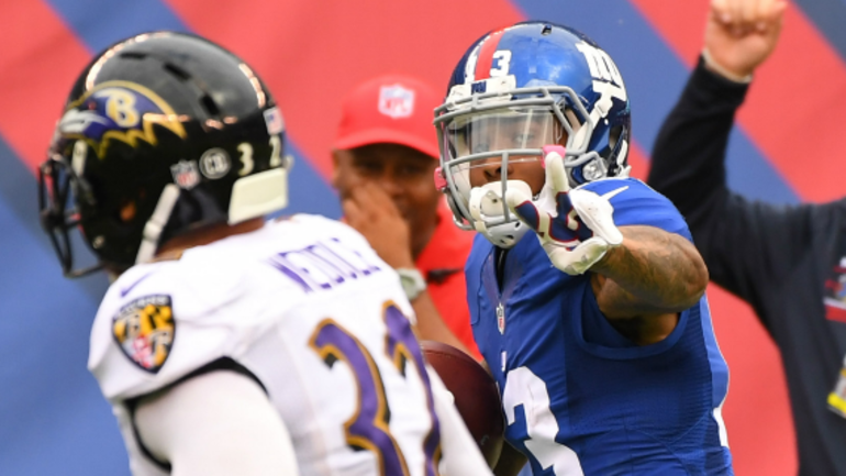 342337e44 Odell Beckham Jr. to appeal his fine from the Ravens game ...