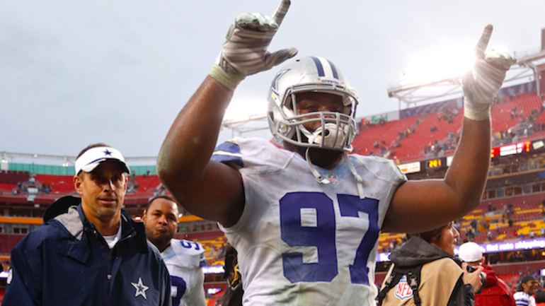 quality design 0674e 58be7 Terrell McClain posts heartfelt message to Dallas Cowboys ...