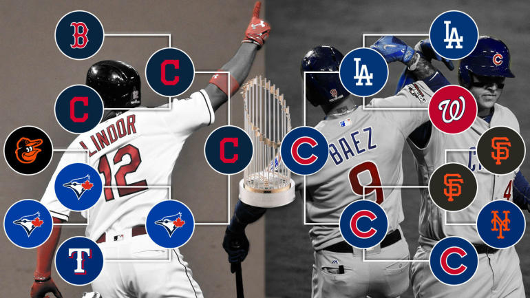 mlb playoffs 2016  full tv schedule  bracket  start times