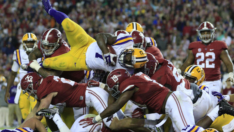 video fournette looks alabama matchup