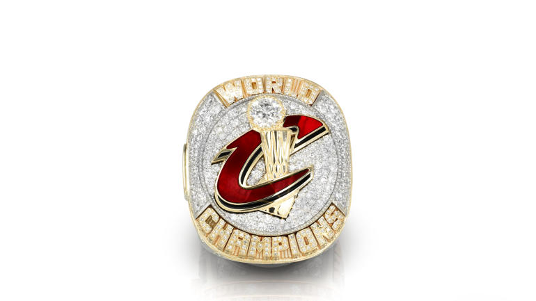 LOOK: The Cavaliers' championship rings are stunning ...