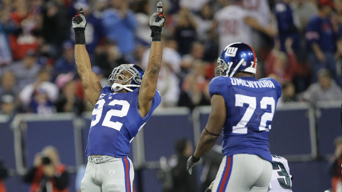 6c0b9926 Mathias Kiwanuka and the New York Giants defense 'stomped out' the ...