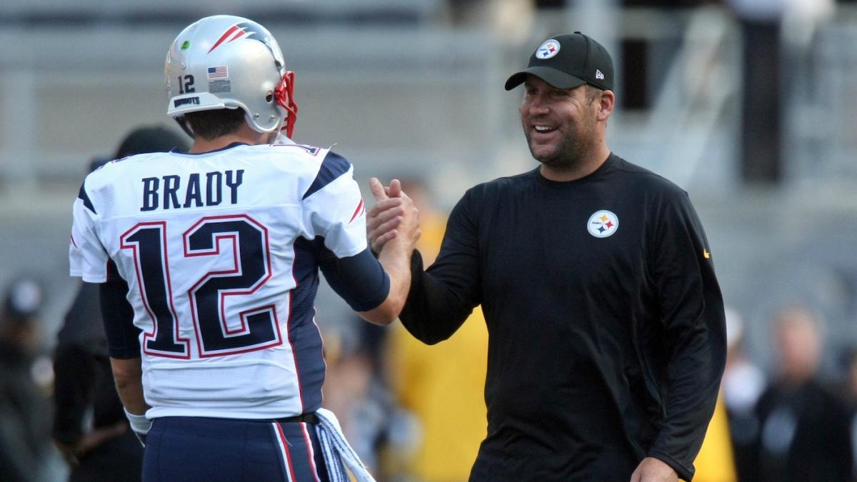 LOOK: Big Ben asks Tom Brady for a big favor before Patriots ...