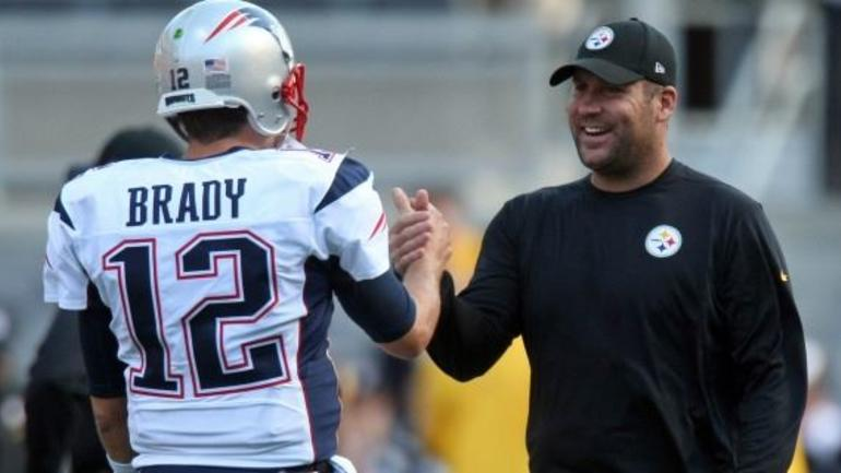 ben roethlisberger asks tom brady for jersey
