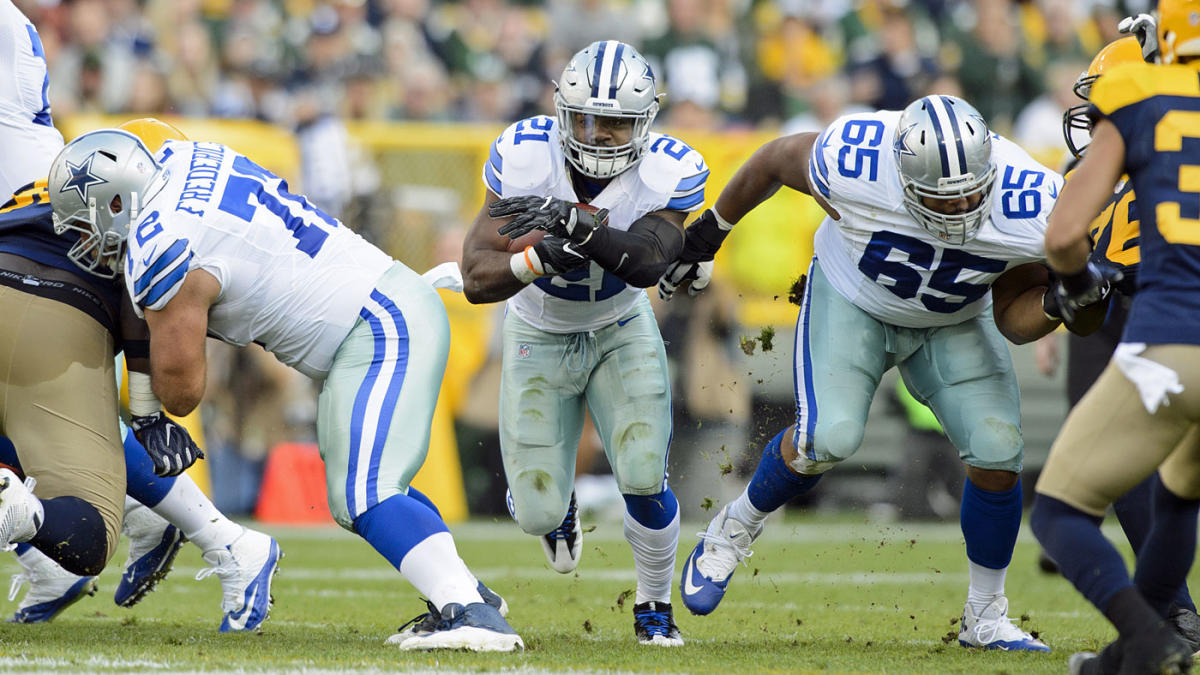 Packers-Cowboys key matchup: Can the Dallas line outmuscle Green Bay's front?