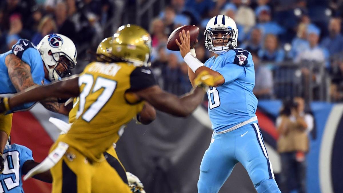 Today's Top Picks: Three best bets for Titans vs. Jaguars on 'Thursday Night Football'