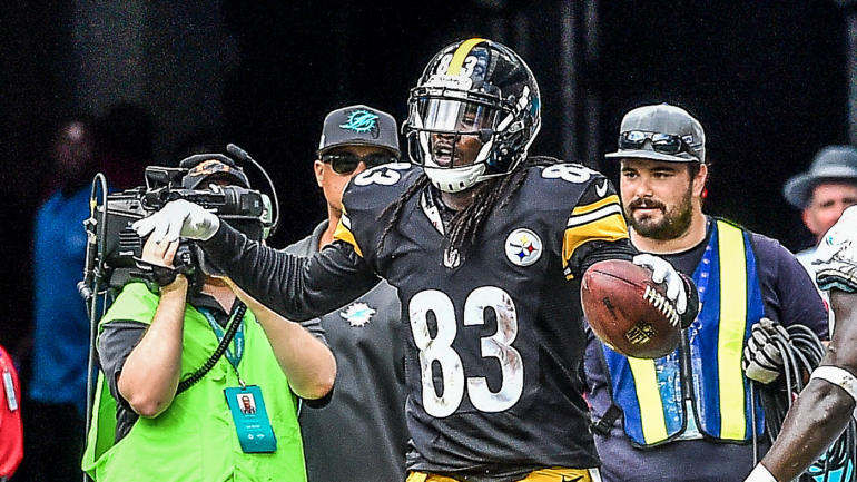 4b9ce25492a Steelers wide receiver used rookie signing bonus to buy cows for the family  farm - CBSSports.com