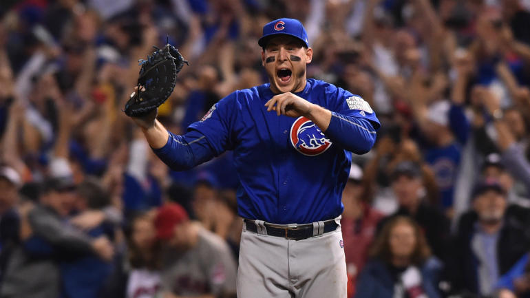 WATCH: Bryant gets final out as Chicago Cubs win first ...