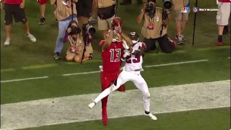 Falcons-Bucs highlights, score: Watch Mike Evans tip toe for second TD