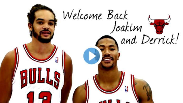 fefc03121c2 Bulls release tribute video for Derrick Rose and Joakim Noah ...