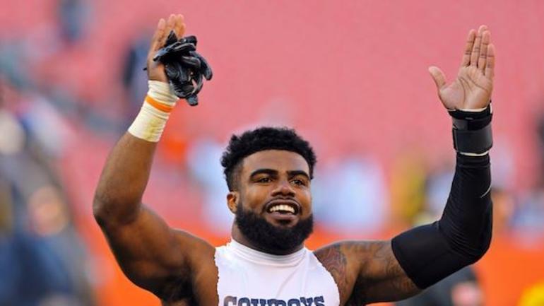 29baf1fa35f Ezekiel Elliott has the top selling NFL jersey - CBSSports.com
