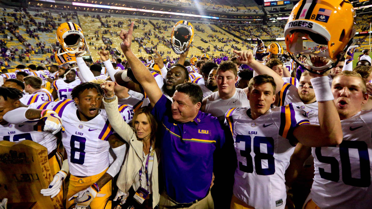 Mistakes prepared Ed Orgeron, the people's coach at LSU, for