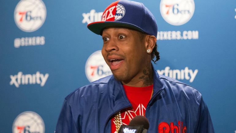 Allen Iverson encourages Sixers, says Joel Embiid and Ben ...