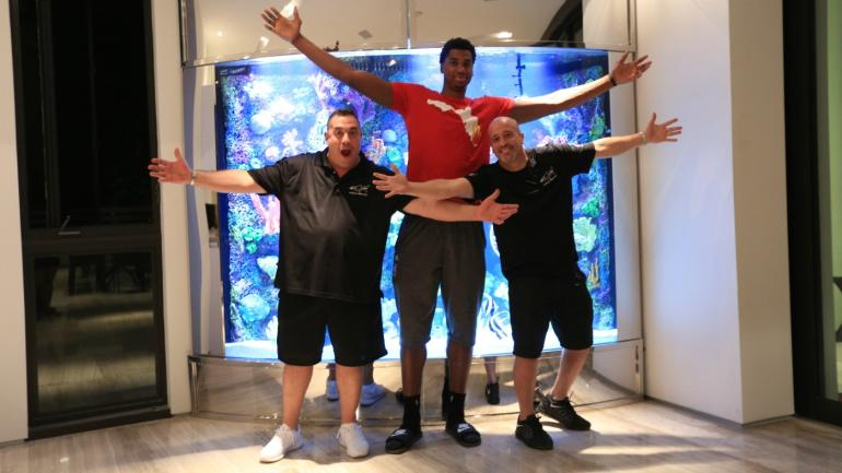 Hassan Whiteside Reveals Why His Larger Than Life Fish