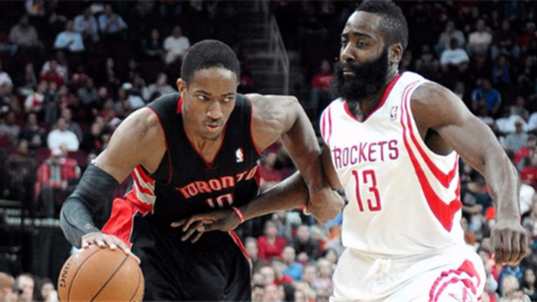0dae6c0530a3 DeMar DeRozan and James Harden named NBA Players of the Week ...