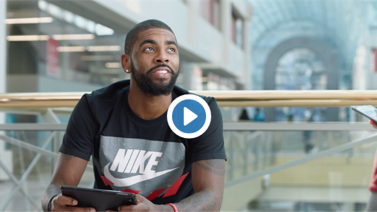 6d5d7f700992 Cavs guard Kyrie Irving stars in a new Foot Locker commercial ...