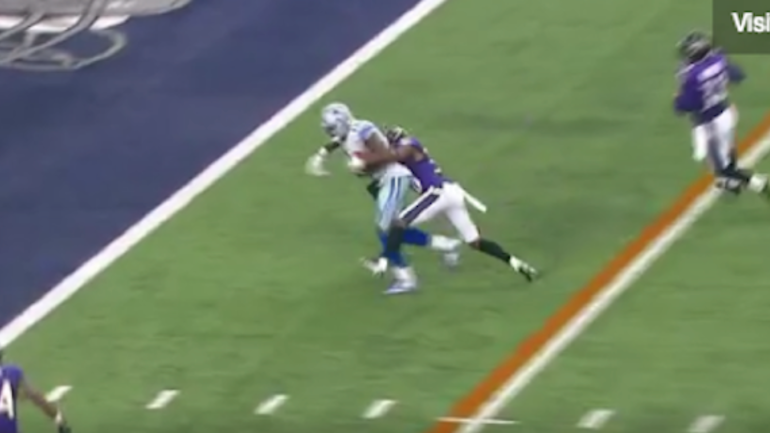 Watch Dez Bryant Fights For Second Td Of The Day Vs Ravens