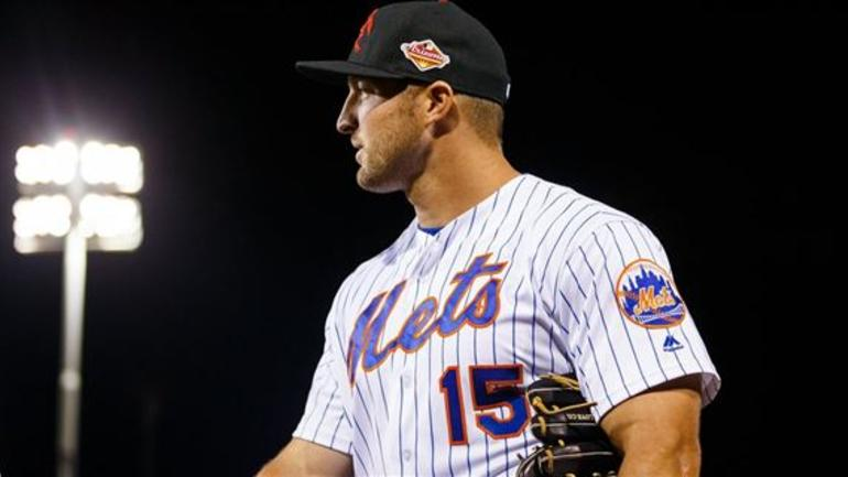 outlet store 2c56d 84d01 Person pays $2,232 for Tim Tebow's game-worn Mets jersey ...