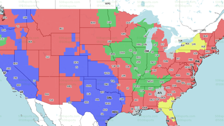 chicago bears-tennessee titans coverage map