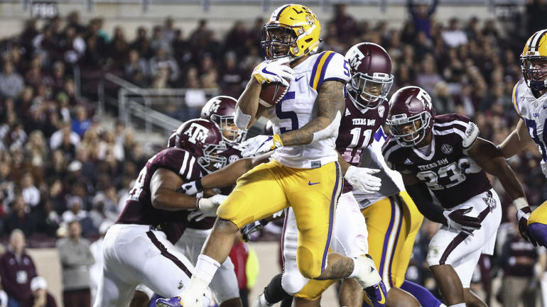 LSU blasts Texas A&M behind Derrius Guice as whispers begin about ...