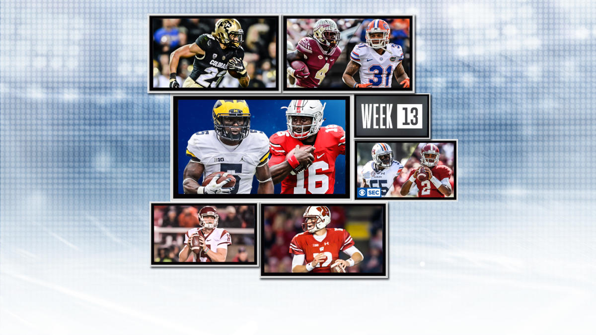 College Football Schedule Week 13 What Games To Watch