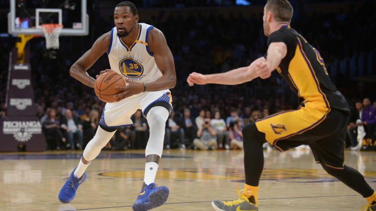 Kevin Durant, Warriors blow out Lakers again, extend streak to 10: Takeaways