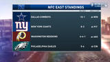 Boomer and Carton: Giants are second in NFC East